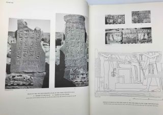 Medinet Habu. The Epigraphic survey. Vol. VII: The temple proper. Part III: The third hypostyle hall and all rooms accessible from it, with friezes of scenes from the roof terraces and exterior walls of the temple[newline]M3530b-10.jpg