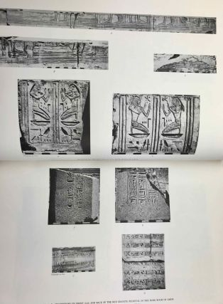 Medinet Habu. The Epigraphic survey. Vol. VII: The temple proper. Part III: The third hypostyle hall and all rooms accessible from it, with friezes of scenes from the roof terraces and exterior walls of the temple[newline]M3530b-12.jpg