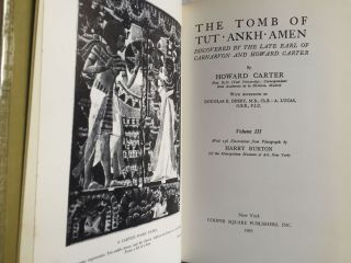 The tomb of Tut-Ankh-Amen. Vol. I, II & III (complete set)[newline]M3566-14.jpg