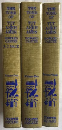 The tomb of Tut-Ankh-Amen. Vol. I, II & III (complete set). CARTER Howard[newline]M3566.jpg