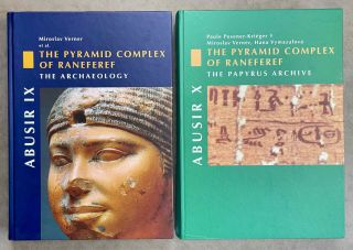 Abusir vol. IX: The pyramid complex of Raneferef. The archaeology. Vol. X: The papyrus archive....[newline]M3604-00.jpeg