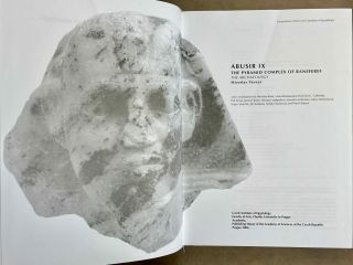 Abusir vol. IX: The pyramid complex of Raneferef. The archaeology. Vol. X: The papyrus archive.[newline]M3604-02.jpeg