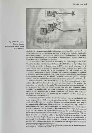 Abusir vol. IX: The pyramid complex of Raneferef. The archaeology. Vol. X: The papyrus archive.[newline]M3604-07.jpeg