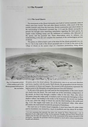Abusir vol. IX: The pyramid complex of Raneferef. The archaeology. Vol. X: The papyrus archive.[newline]M3604-10.jpeg