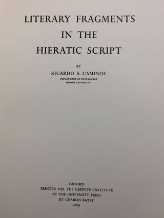 Literary fragments in the hieratic script[newline]M3622a-02.jpg