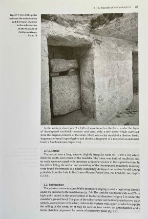 Minor tombs in the royal necropolis. The mastabas of Nebtyemneferes and Nakhtsare, Pyramid complex Lepsius no. 24 and Tomb complex Lepsius no 25.[newline]M3664-10.jpeg