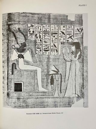 The Egyptian book of the dead documents in the Oriental Institute Museum at the University of Chicago. Ideas of the Ancient Egyptians Concerning the Hereafter As Expressed in Their Own Terms. SAOC 37[newline]M3686a-08.jpeg