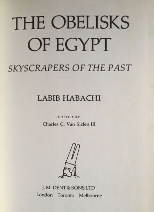 The obelisks of Egypt. Skyscrapers of the past.[newline]M3692a-01.jpg