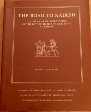 The road to Kadesh. A historical interpretation of the battle reliefs of King Sety I at Karnak....[newline]M3736.jpg