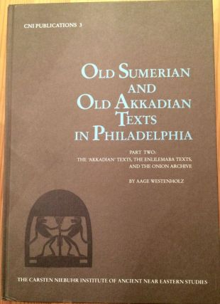 "Old Sumerian and Old Akkadian Texts in Philadelphia. Part Two: The ""Akkadian"" Texts, the...[newline]M3823.jpg"