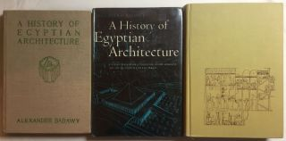 A History of Egyptian Architecture, Volume I: From the earliest times to the end of the Old Kingdom. Vol.II : The First Intermediate Period, the Middle Kingdom, and the Second Intermediate Period. Vol. III: The Empire (the New Kingdom). From the Eighteenth Dynasty to the End of the Twentieth Dynasty 1580-1085 B.C. (Complete set)[newline]M3900b-01.jpg