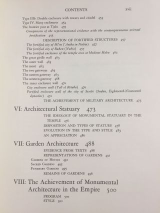 A History of Egyptian Architecture, Volume I: From the earliest times to the end of the Old Kingdom. Vol.II : The First Intermediate Period, the Middle Kingdom, and the Second Intermediate Period. Vol. III: The Empire (the New Kingdom). From the Eighteenth Dynasty to the End of the Twentieth Dynasty 1580-1085 B.C. (Complete set)[newline]M3900b-33.jpg