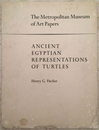 Ancient Egyptian Representations of Turtles. FISCHER Henry George[newline]M3901.jpg