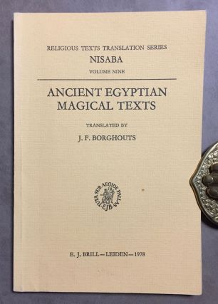 Ancient Egyptian magical texts. BORGHOUTS J. F.[newline]M3905c.jpg