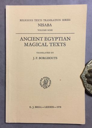 Ancient Egyptian magical texts. BORGHOUTS Joris Frans[newline]M3905c.jpg