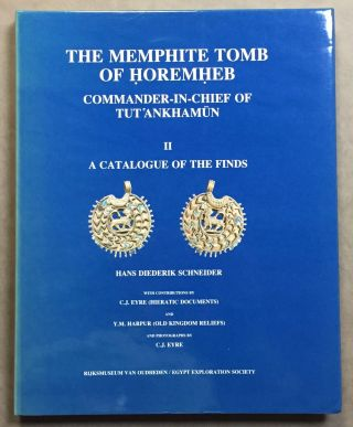 The Memphite Tomb of Horemheb commander-in-chief of Tut'ankhamun. Part II: A catalogue of the...[newline]M3907d.jpg