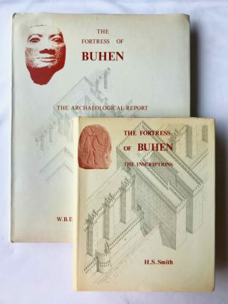 The fortress of Buhen. Vol. I: The archaeological report. Vol II: The inscriptions (complete...[newline]M3917b.jpg