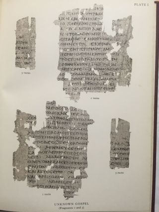 Fragments of an unknown gospel and other early Christian papyri[newline]M3936-12.jpg