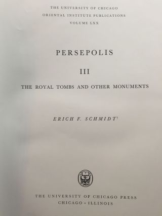 Persepolis III: The royal tombs and other monuments[newline]M3941-02.jpg