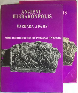 Ancient Hierakonpolis + supplement (complete set). ADAMS Barbara[newline]M3975.jpg