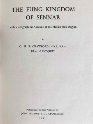 The Fung kingdom of Sennar, with a geographical Account of the Middle Nile Region[newline]M3990a-04.jpg