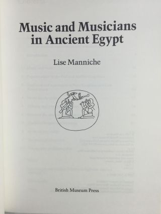 Music and musicians in Ancient Egypt[newline]M4014-01.jpg