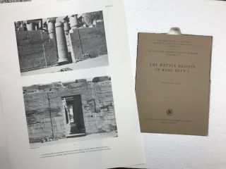 Reliefs and inscriptions at Karnak. The Epigraphic Survey. Volume IV: The battle reliefs of King Sety I[newline]M4020-08.jpg