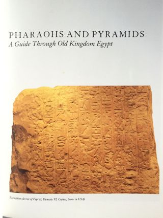 Pharaohs and Pyramids: a Guide Through Old Kingdom Egypt. HART George[newline]M4097-01.jpg
