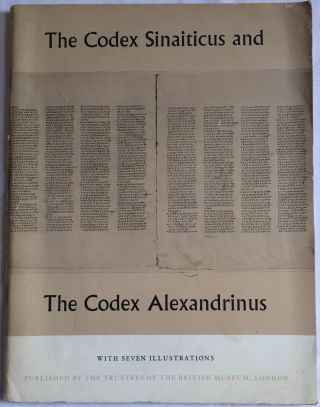 The codex sinaiticus and the codex alexandrinus. AAF - Museum - British Museum[newline]M4156.jpg
