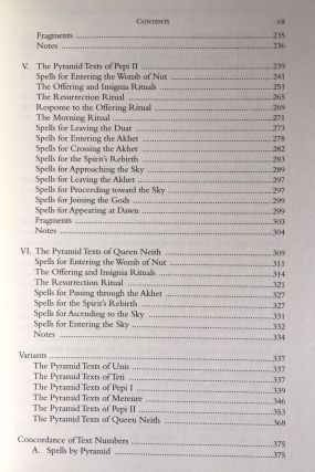 The Ancient Egyptian Pyramid Texts. Writings from the Ancient World.[newline]M4168-04.jpg