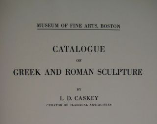 Museum of Fine Arts in Boston: Catalogue of Greek and Roman sculpture[newline]M4200-02.jpg