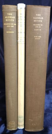 The Alishar Huyuk: Seasons of 1928 and 1929. Part I, II & III (complete set). SCHMIDT Erich F.[newline]M4218.jpg