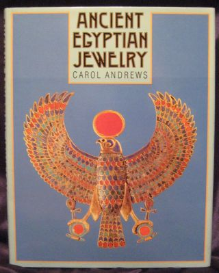 Ancient Egyptian jewelry. ANDREWS Carol A. R[newline]M4260.jpg
