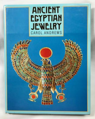 Ancient Egyptian jewelry. ANDREWS Carol A. R[newline]M4260a.jpeg