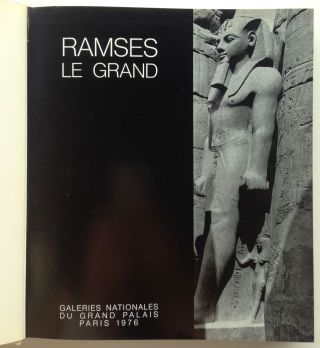 Ramsès Le Grand. Catalogue d'exposition. Galleries Nationales du Grand Palais.[newline]M4277-01.jpg