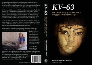 KV-63. The untold story of the new tomb in Egypt's Valley of the Kings. SANDERS WILSON Roxanne[newline]M4357a.jpg