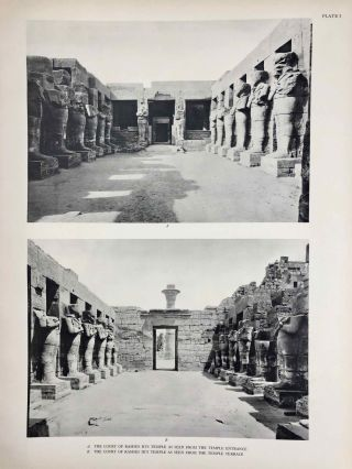Reliefs and inscriptions at Karnak. The Epigraphic Survey. Volumes I, II, III & IV (complete set)[newline]M4390b-17.jpg