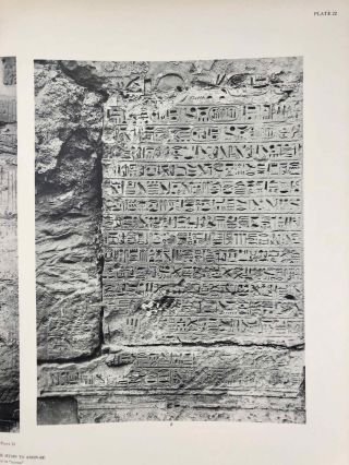 Reliefs and inscriptions at Karnak. The Epigraphic Survey. Volumes I, II, III & IV (complete set)[newline]M4390b-18.jpg