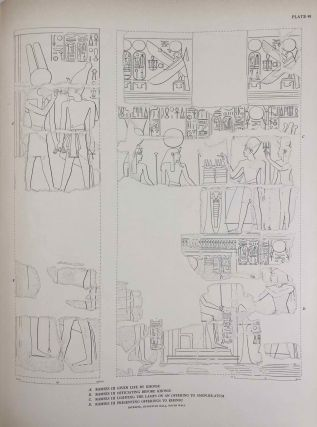 Reliefs and inscriptions at Karnak. The Epigraphic Survey. Volumes I, II, III & IV (complete set)[newline]M4390b-19.jpg