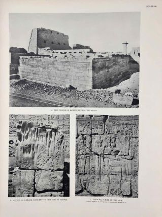 Reliefs and inscriptions at Karnak. The Epigraphic Survey. Volumes I, II, III & IV (complete set)[newline]M4390b-29.jpg