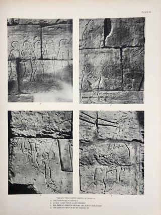 Reliefs and inscriptions at Karnak. The Epigraphic Survey. Volumes I, II, III & IV (complete set)[newline]M4390b-30.jpg