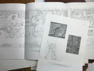 Reliefs and inscriptions at Karnak. The Epigraphic Survey. Volumes I, II, III & IV (complete set)[newline]M4390b-59.jpg