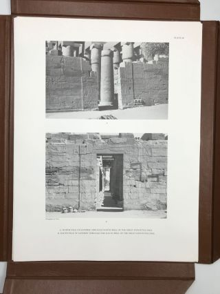 Reliefs and inscriptions at Karnak. The Epigraphic Survey. Volumes I, II, III & IV (complete set)[newline]M4390b-60.jpg