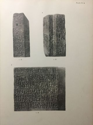 Carchemish. Report on the Excavations at Jerablus on Behalf of the British Museum. Vol. I: Introductory. Vol. II: The town defences. Vol. III: The excavations in the inner town. The Hittite inscriptions (complete set)[newline]M4399c-11.jpg