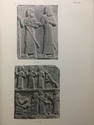 Carchemish. Report on the Excavations at Jerablus on Behalf of the British Museum. Vol. I: Introductory. Vol. II: The town defences. Vol. III: The excavations in the inner town. The Hittite inscriptions (complete set)[newline]M4399c-14.jpg