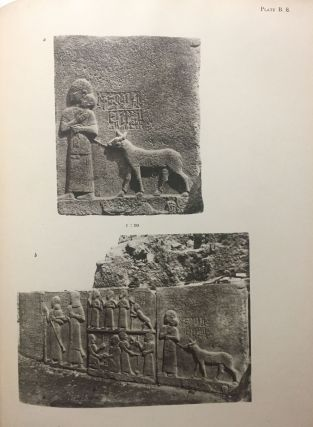 Carchemish. Report on the Excavations at Jerablus on Behalf of the British Museum. Vol. I: Introductory. Vol. II: The town defences. Vol. III: The excavations in the inner town. The Hittite inscriptions (complete set)[newline]M4399c-15.jpg