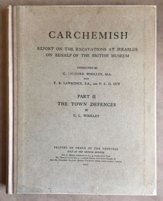 Carchemish. Report on the Excavations at Jerablus on Behalf of the British Museum. Vol. I: Introductory. Vol. II: The town defences. Vol. III: The excavations in the inner town. The Hittite inscriptions (complete set)[newline]M4399c-16.jpg