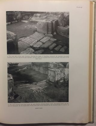 Carchemish. Report on the Excavations at Jerablus on Behalf of the British Museum. Vol. I: Introductory. Vol. II: The town defences. Vol. III: The excavations in the inner town. The Hittite inscriptions (complete set)[newline]M4399c-46.jpg