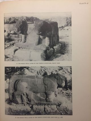 Carchemish. Report on the Excavations at Jerablus on Behalf of the British Museum. Vol. I: Introductory. Vol. II: The town defences. Vol. III: The excavations in the inner town. The Hittite inscriptions (complete set)[newline]M4399c-53.jpg