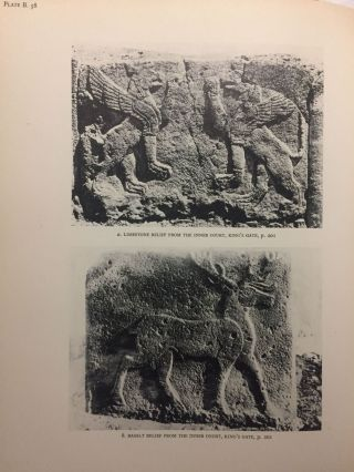 Carchemish. Report on the Excavations at Jerablus on Behalf of the British Museum. Vol. I: Introductory. Vol. II: The town defences. Vol. III: The excavations in the inner town. The Hittite inscriptions (complete set)[newline]M4399c-54.jpg